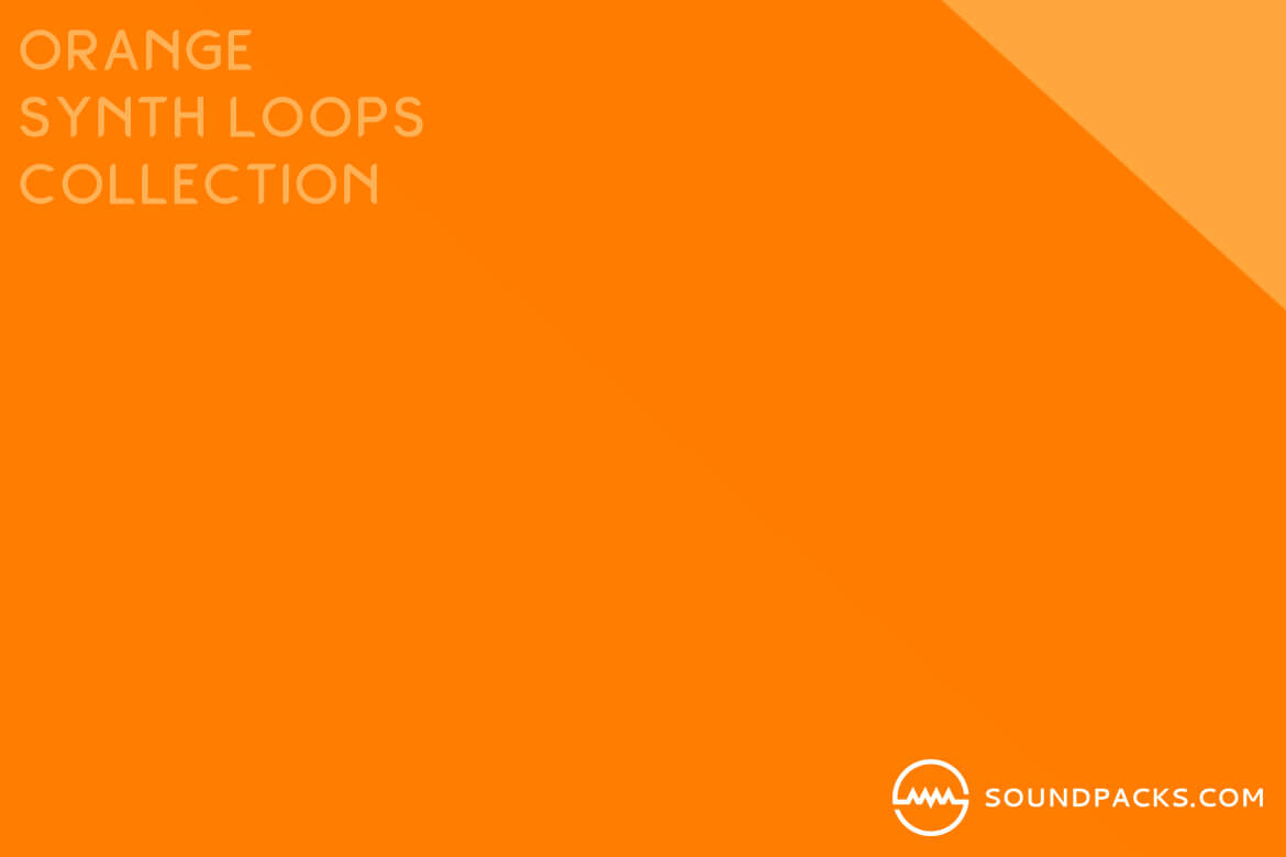 Orange Synth Loops Collection Vol  1 | SoundPacks com